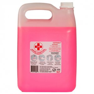 5L Chlorohexidine / Alcohol Hand Sanitizer Blend 37% Alcohol