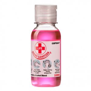 100ml Chlorohexidine / Alcohol Hand Sanitizer Blend 37% Alcohol