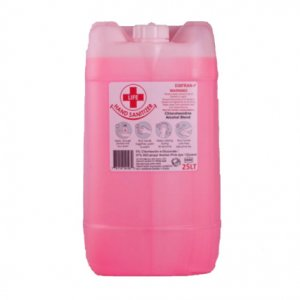 25L Chlorohexidine / Alcohol Hand Sanitizer Blend 37% Alcohol