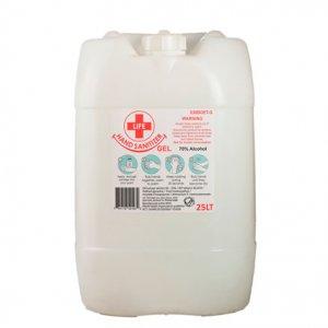 25L Clear Gel Hand Sanitizer 70% Alcohol
