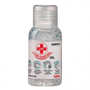 50ml Clear Gel Hand Sanitizer 70% Alcohol