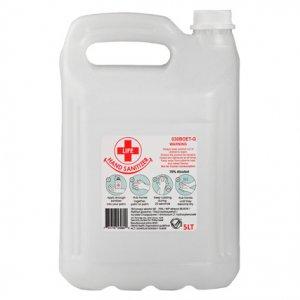 5L Clear Gel Hand Sanitizer 70% Alcohol