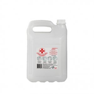 5L Clear Liquid Hand Sanitizer 70% Alcohol