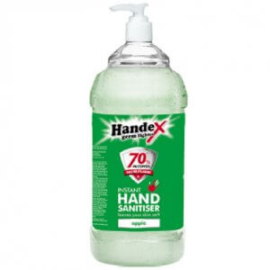 handex scented and coloured sanitiser