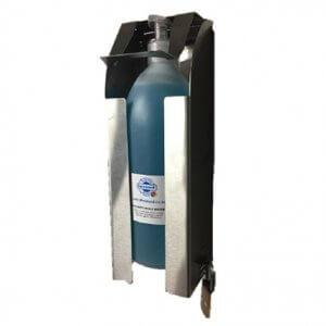 lockable wall mounted sanitising unit