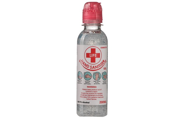 200ml Clear Gel Hand Sanitizer 70% Alcohol