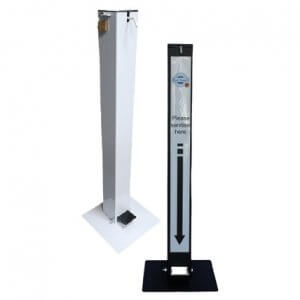 steri-stand industrial 100mm square stand