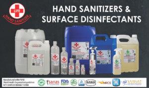 Liquid Sanitizers & Surface Disinfectants